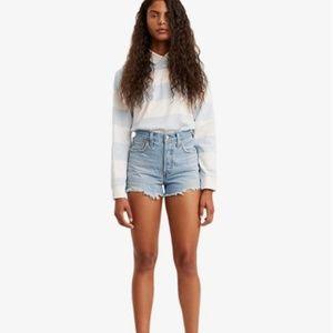 NWT- Levi's Premium Premium 501 High-Rise Shorts